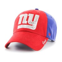 New York Giants Womens Sparkle Clean Up Adjustable Hat