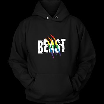 Matching Couples T-shirt ,Beast Gay Lesbian LGBT Shirt - Unisex Hoodie T Shirt - TL01265HO