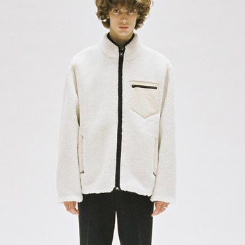 Fleece Jacket Ivory