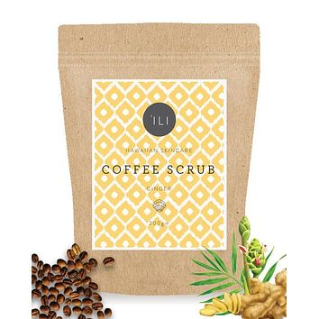 'ILI - Ginger Coffee Scrub