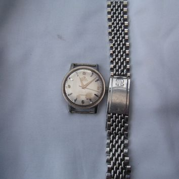 Gents Omega Stainless Steel Seamaster Automatic Watch Not Working