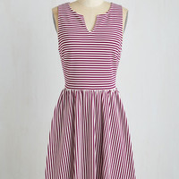 Mid-length Sleeveless A-line By and Berry Pie Dress