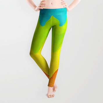 Parrot Leggings by Titus Ruiz