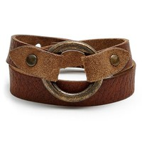 Women's Frye 'Harness' Leather Wrap Bracelet