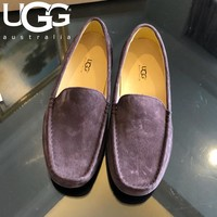 UGG Popular Men Casual Leather Single Shoes