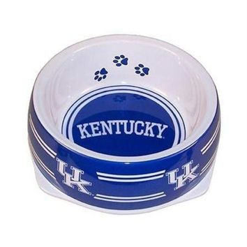 VONE05RR Kentucky Wildcats Dog Bowl