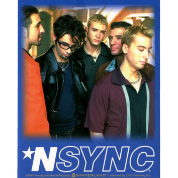 NSYNC - Group Shot Decal