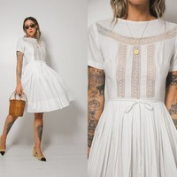 Bettie Embroidered Lace Dress