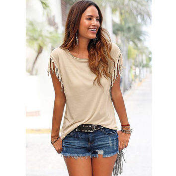 2016 Summer Women T-Shirts Top Selling Short Sleeve Pure Color Loose Plus Size Tee Tops Female T-Shirts Free Shipping