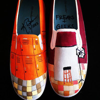 Freaks and Geeks Custom Shoes