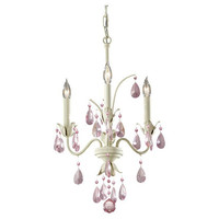 Murray Feiss Charlene 3 Light Ivory Mini Chandelier - F2756/3IV