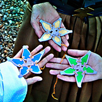 Kingdom Hearts: BbS Wayfinder (Aqua, Terra and Ventus) - Handmade with felt