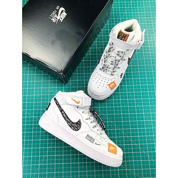 Just Do It Nike Air Force 1 Lv8 Mid Fashion Shoes - Sale