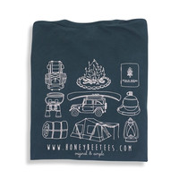 Camping Gear Adult Short Sleeve Pocket Tee