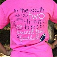 South Sweet Tea & Football Tee