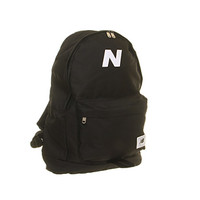 New Balance Mellow Backpack Black Black White - Backpacks