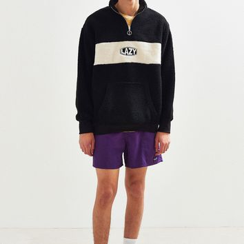 Lazy Oaf Polar Fleece Half-Zip Sweatshirt | Urban Outfitters