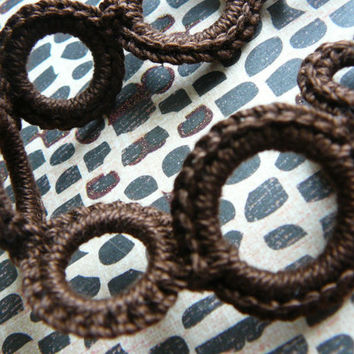 The Latest Stlye Pacifier Clip-  BROWN - (fits mam, soothie, nuk) -READY to SHIP-  (lippybrand)