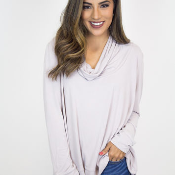 Pink Modal Front Drape Top - BB Dakota
