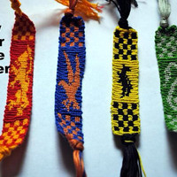 Harry Potter House Banner Friendship Bracelet
