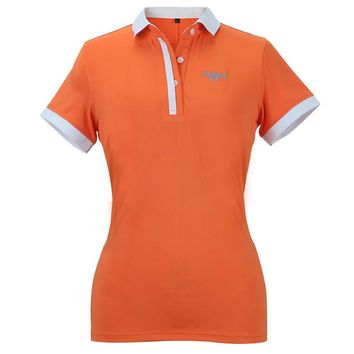 Newest PGM Women Summer Polo Top Shirt 7 Color