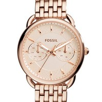 Women's Fossil 'Tailor' Multifunction Bracelet Watch