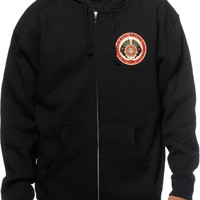 Obey Reverse The Tide Zip Up Hoodie