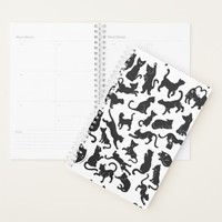 Black Cat Pattern Planner