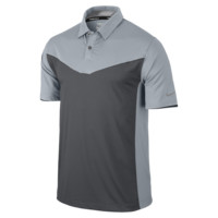 Nike Innovation Color Block Men's Golf Polo Shirt Size Small (Grey)