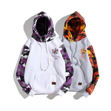 Casual Sports Winter Camouflage Fleece Pullover Couple Hats [1573979127901]