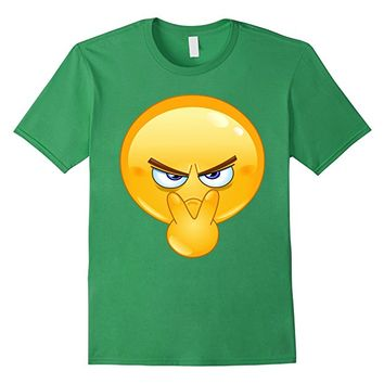 Emoji Shirt Pointing to Eyes Emoticon - I'm Watchin You