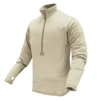 Base II Zip Pullover Color- Sand (XX-Large)