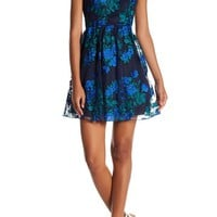 Speechless | Embroidered Illusion Party Dress (Juniors) | Nordstrom Rack
