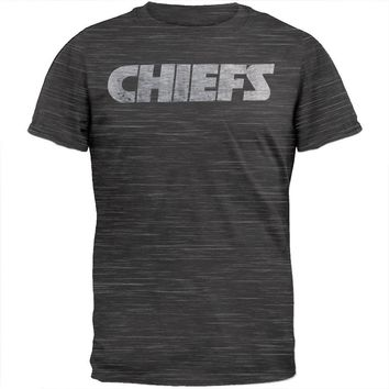 Kansas City Chiefs - Logo Scrum Legacy Premium T-Shirt