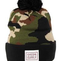 Camo Custom Supply Knit Hat