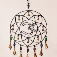 Cosmic Om Beaded Wind Chime