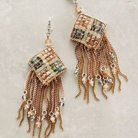 Meadowhill Fringe Earrings by Anthropologie Green Motif All Earrings
