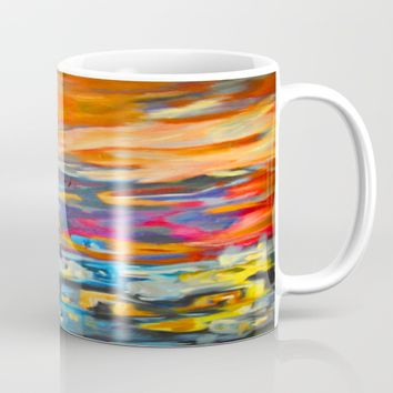 My Village | Colorful Small Mountainy Village Mug by Azima