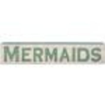Mermaids Jumbo Carved Sign By Primitives By Kathy