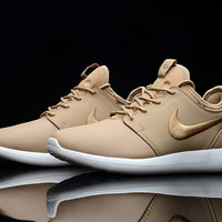 """NIKE"" Winter Trending Fashion Knitting Logo Casual Sports Shoes Khaki"