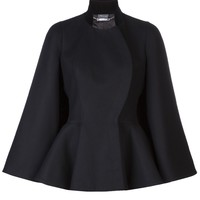 Alexander Mcqueen Capelet Button Jacket - Marissa Collections - Farfetch.com