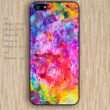 iPhone 6 case watercolor case red watercolor iphone case,ipod case,samsung galaxy case available plastic rubber case waterproof B055
