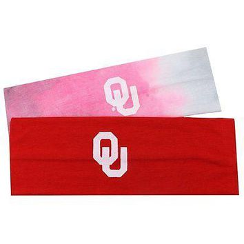 Oklahoma Sooners Official NCAA Yoga Headband 2 Pack by Top of the World 111124