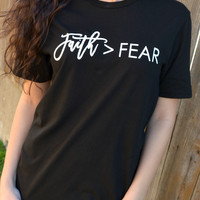 Faith Is Greater Tee