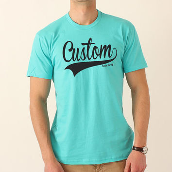 Custom Gift T-shirt - All Colors & Sizes Available - Anything You Want - 259