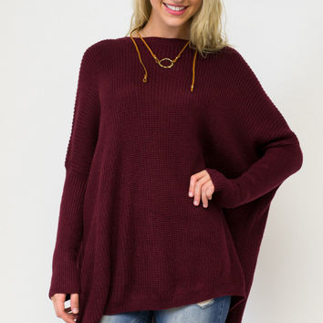 Oversized Cozy Knit Sweater