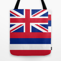 The State flag of Hawaii - Authentic version Tote Bag by LonestarDesigns2020 - Flags Designs +