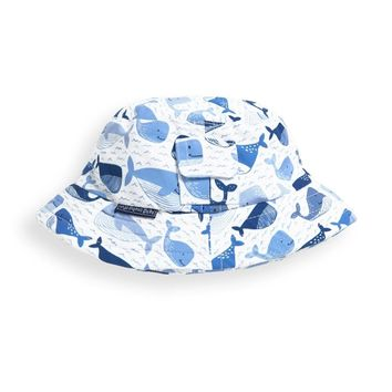 Bucket Sun Hat (Blue Whale) by JoJo Maman Bebe