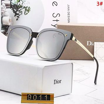 DIOR Fashion New Polarized Women Sun Protection Glasses Eyeglasses 3#