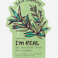 Tonymoly I Am Real Tea Tree Skin Soothing Sheet Mask Tea Tree One Size For Women 27480695701